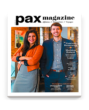 PAX magazine French cover